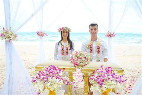 Thai Style Wedding Ceremony Packages Krabi Thailand