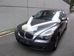 Wedding car decoration tutorial - Designers tips and photo