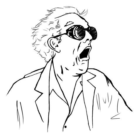 Doc Brown Meme - meme faces wodota meme creator