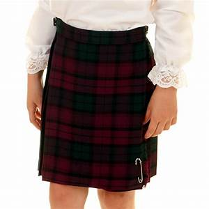 Girls Lindsay Tartan Kilt Made in Scotland Ages 0-6M to 14 ...
