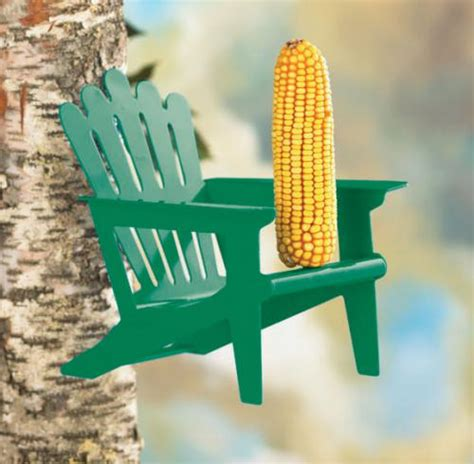 squirrel feeder lawn chair hiatt manufacturing adirondack green chair squirrel feeder