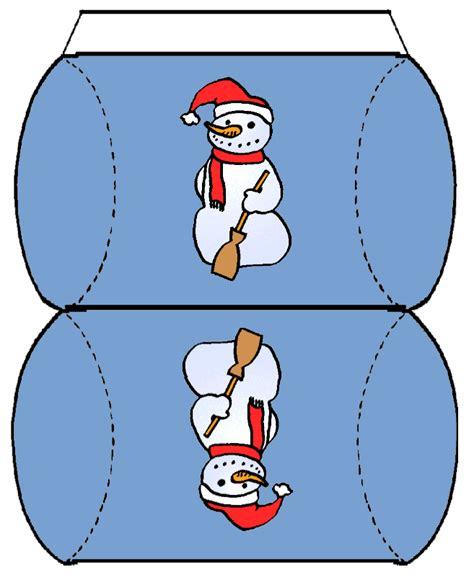 Verpackungsideen Schablone Schneemann by Weihnachtsboxen Basteln Kostenlose Vorlagen Und
