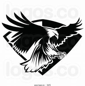 American Eagle Clipart Black And White | Clipart Panda ...