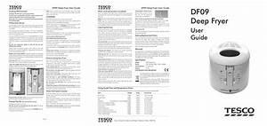 Tesco Df09 User Manual Pdf Download