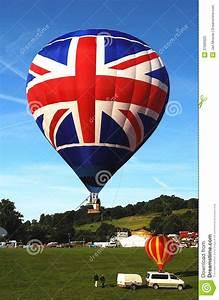 UK Hot Air Balloon Royalty Free Stock Photo - Image: 37699925