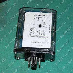 Warrick Controls  16mb1a0  Dual Level Control Relay New