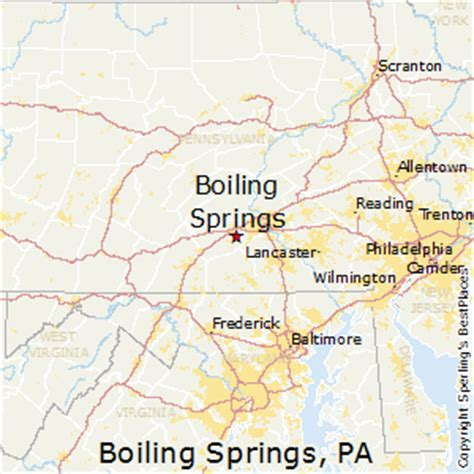 places    boiling springs pennsylvania