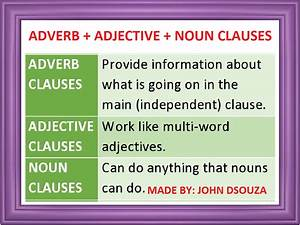 Noun Clauses  Lesson And Resources
