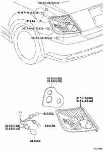 Scion Tc Tail Light Gasket  Right  Rear   Combination