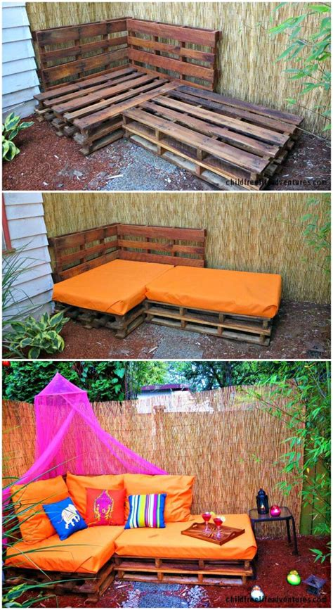 pallet sofa  diy pallet sofa plans diy crafts