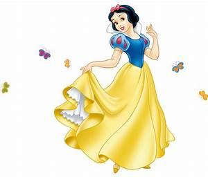 HUGE SNOW-WHITE Decal Disney Princess Removable WALL ...