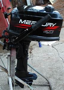 Used Mercury 4 Hp Outboard Mercury Outboards 1999 4 Hp