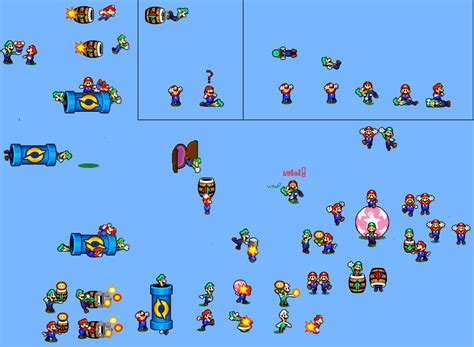 Mario And Luigi 3 Sprites By Phrexmariogamer On Deviantart