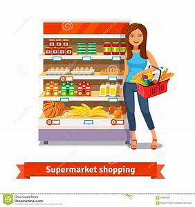 Supermarket Cartoons, Illustrations & Vector Stock Images ...