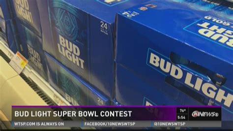 bud light superbowl sweepstakes bud light super bowl contest wtsp com