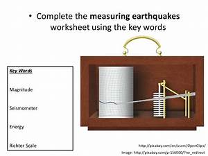 Earthquakes and Richter scale
