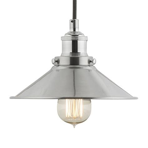 brushed nickel light fixtures kitchen linea di liara andante industrial factory pendant l 7972