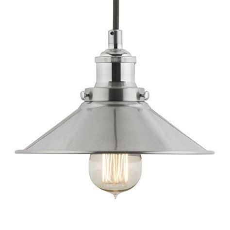 Andante Industrial Kitchen Pendant Light ? Brushed Nickel