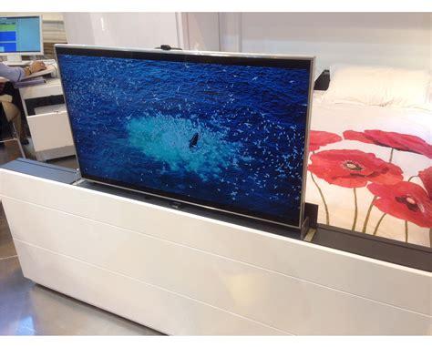 Meuble Tv Motorisé Escamotable. Television Escamotable