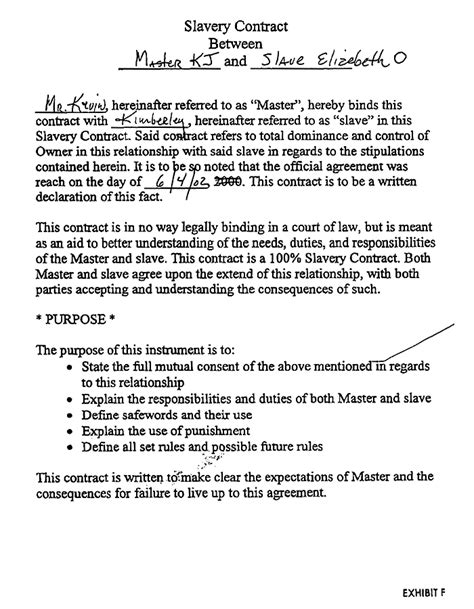 dom sub contract template and proud of it holy getting