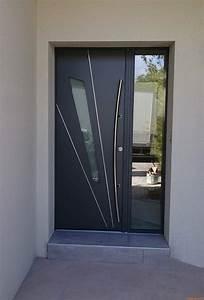 fournisseur et installateur de porte d39entree aluminium k With porte d entrée 2 vantaux