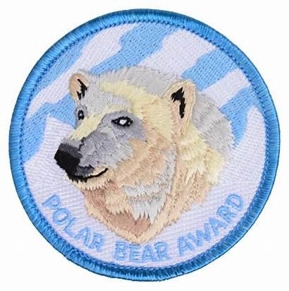 Bear Polar Patch Scout