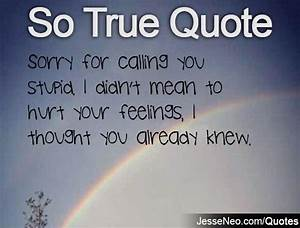 So True Quotes ... Hurt Meaning Quotes