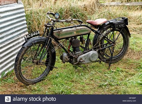 A Triumph Model H World War 1 Army Despatch Motorcycle