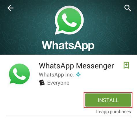 how to and install whatsapp free whatsapp tutorials