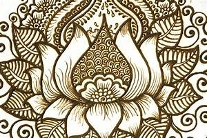 Simple Lotus Flower Designs Wallpaper | Share The Knownledge