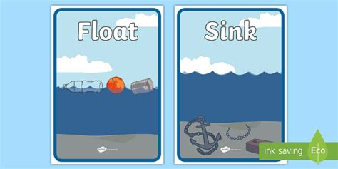 Floating Vs Sinking by Floating And Sinking Sorting Sheets Floating Sinking