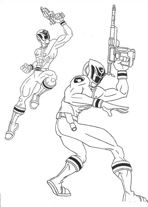 Power Rangers #102 (Superheroes) – Printable coloring pages