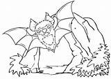 Coloring Bat Cave Come sketch template