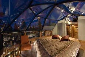 Glass Igloo and Villa Break in search of the Northern Lights