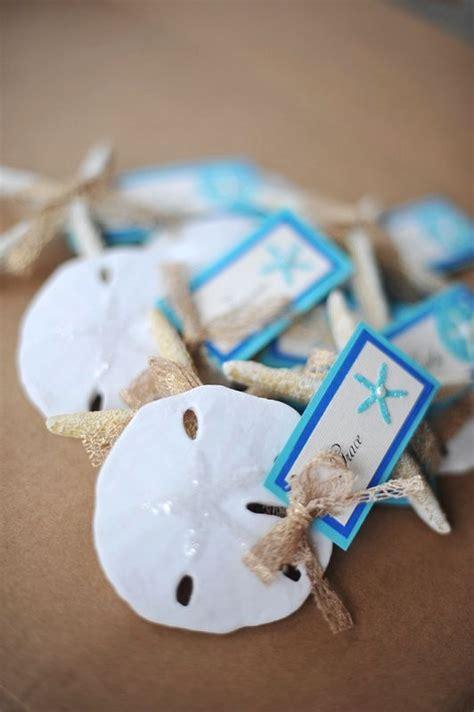 beachy place card holders photo  island bliss weddings