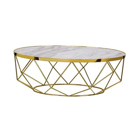 So if your searching for a glass coffee table, black coffee table or a more subtle oak coffee table please feel free to peruse our fine selection. Modern Marble Coffee Table - Gold Cocktail Tables, White - Decobuys