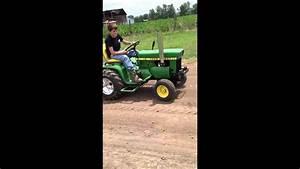 John Deere 110 Test Pull