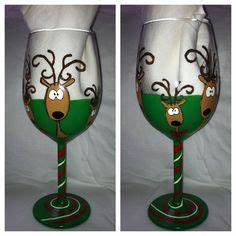 1000 images about painted wine glasses on Pinterest