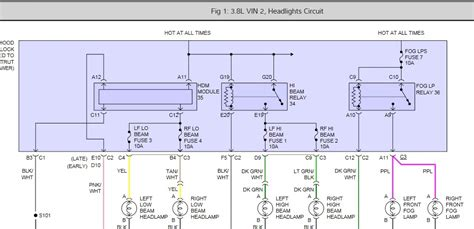 2006 Grand Prix Headlight Wiring Diagram by 2006 Pontiac Grand Prix Headlights I M An Issue