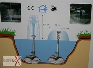 Springbrunnen Für Teich : teichpumpen set waterwerks springbrunnen teich pumpe wasserspiel ebay ~ Eleganceandgraceweddings.com Haus und Dekorationen