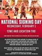 National Signing Day Event - Feb 1st - Cougar Football ...