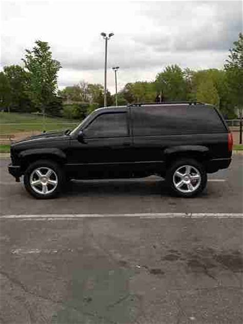 all car manuals free 1997 chevrolet tahoe electronic throttle control buy used 1997 chevrolet tahoe lt sport yukon 4x4 2 door 5 7l custom over 25k invested in