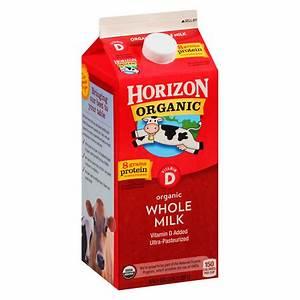 Horizon Organic Whole Milk Half Gallon | Walgreens