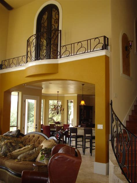 interior design kitchens 2014 indoor balcony railing traditional living room other
