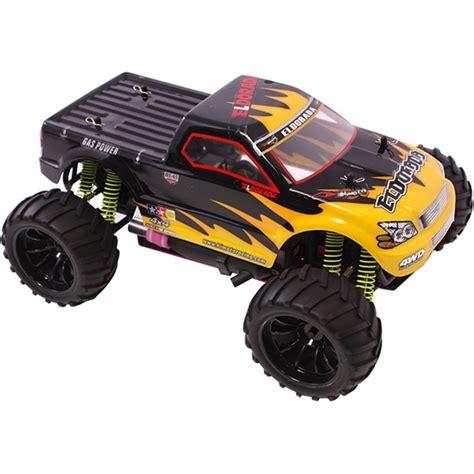 nitro monster truck rc 1 10 nitro rc monster truck trail blazer