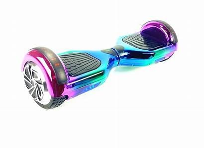 Hoverboard Rainbow Segway Chrome Led Scooter Kart