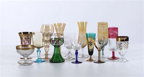 Ladari In Cristallo Di Murano by Groupage Di Bicchieri In Cristallo Di Murano Asta A
