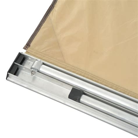 Folding Cer Awning - outsunny car awning portable folding retractable rooftop