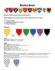 Color Heraldry Symbols and Meanings
