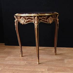 Pair, Kingwood, French, Side, Tables, Cocktail, Table, Empire